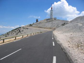 arrivée mont Ventoux