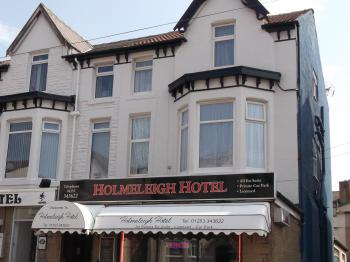 The Holmeleigh Hotel - Front view.