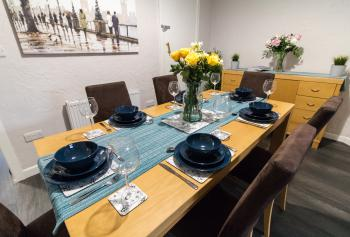 Ideal Home Away in Bury - Large Dinning Table