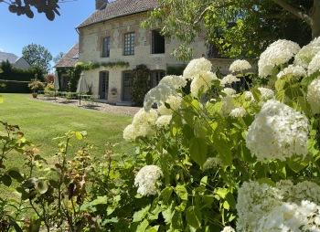 La Maison d'Aline - maison et son jardin