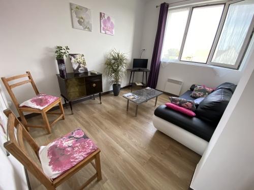 Appartement-Supérieure-Douche-Vue sur Jardin-2-3 Pers (AUDRESSELLE)