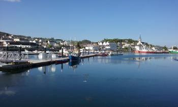 Ideal setting town of Killybegs and harbour