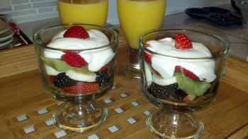Breakfast Fruit Cups
