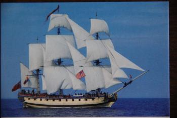 Rev. War Tall Ship Rose built by John Millar 1970
