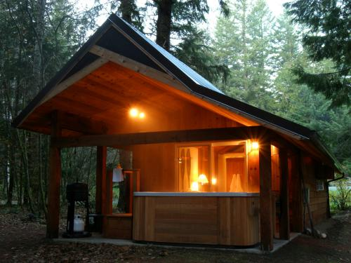 Almost Paradise Lodging - Rainier Cabin