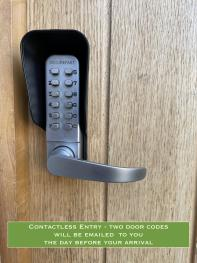 Contactless Entry - Two Coded Doors (sent by email)