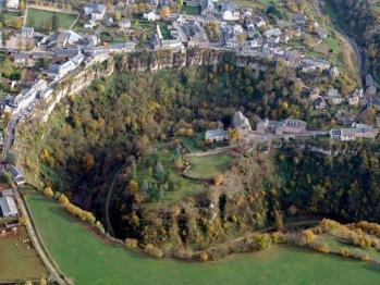 Le site géologique de Bozouls