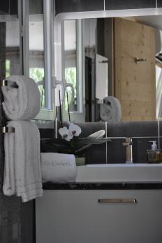 Draps de bain, serviettes de toilette & Peignoirs.