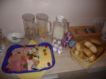 Frühstücksbüffett