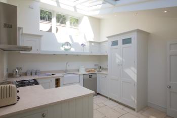 Stunning kitchen with underfloor heating