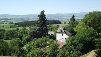 La vue sur la Planèze de Saint-Flour