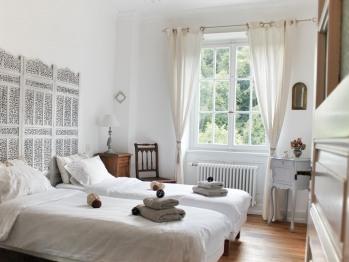 Gîte Sud Alsace chambre 2 - 2 lits simples ou un lit double