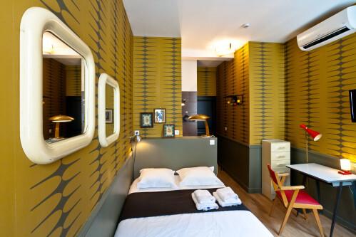 Double-Basic-Salle de bain privée séparée-Vue ville-BASIC