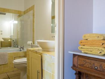 Chambre jaune Mas Bazan