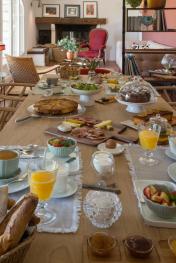 Bastide les 3 Portes - Le petit déjeuner est servi !