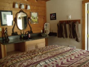 S C LODGE- COWBOY ROOM-Family room-Private Bathroom-Family-Street View
