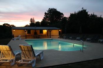 Manoir de la Basse-Cour - Pool Area
