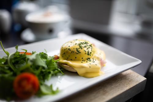 Eggs Benedict, just one of our delicious Breakfast dishes