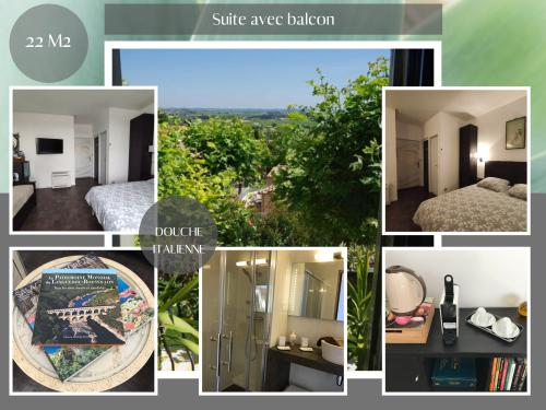 FLEXIBLE - Suite pour 1 à 3 personnes, balcon - Petits dejeuners inclus