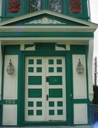 Entrance to The ELMS B&B
