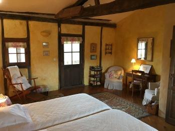 Chambre Duras - vers la porte