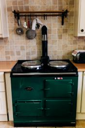 I cook your breakfast on my aga cooker
