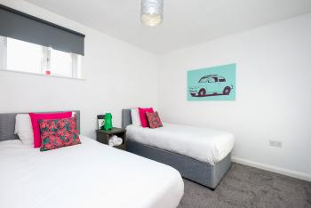 Bright Modern Twin Bedrooms