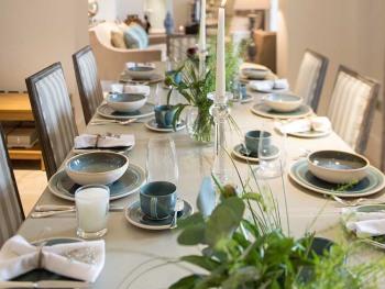 Hencote Grange dining