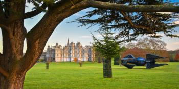 Burghley House and Estate within walking distance.