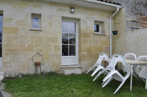 Gîte La Remise, vue sur le Jardin