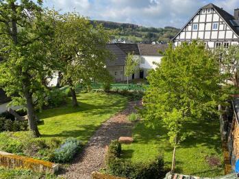 Garten zur Nutzung für Gäste
