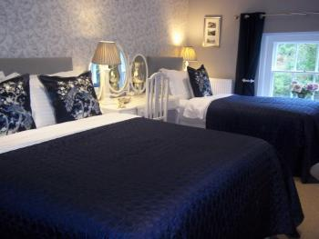Ironbridge View Townhouse - Beautiful large bedroom -  wake up to a view of the Iron Bridge & river 2019 'Certificate of Excellence' Award
