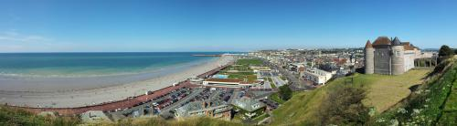 Vue Panoramique Dieppe City