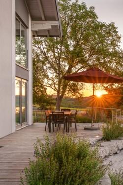 Terrasse Morgensonne