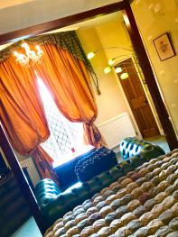 Romantic room at Augill Castle