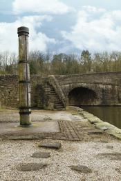 The history of the canal basin is visible everywhere.