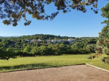Vue des Demeures du Clos - le village de Niozelles