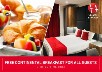 Hotel Express Newcastle Gateshead - Free Continental Breakfast