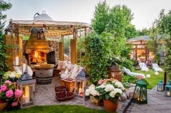 Feuerstelle & GartenSPA