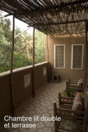 terrasse dee la chambre Hibiscus