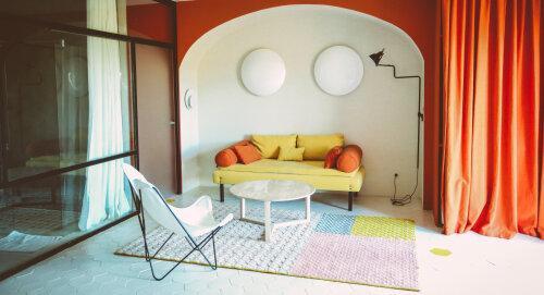 Ô pied des vignes-Double-Design-Salle de bain et douche-Vue sur le vignoble - Tarif de base