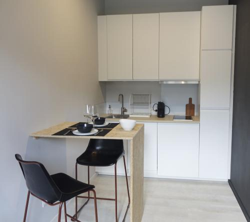 Appartement-1-Design-Vue sur Jardin-Douche - Tarif de base
