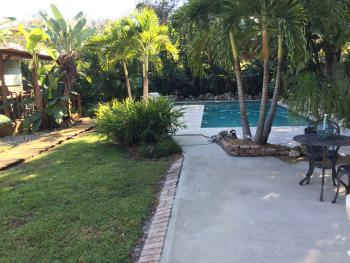 Manatee Palms B&B - Outdoor Pool