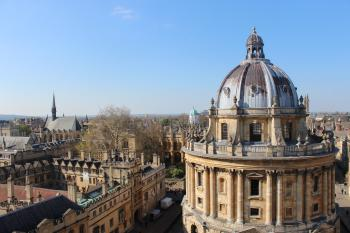 Radcliffe Camera & Brasenose College Oxford