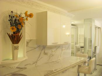Studio-Apartment-Eigenes Badezimmer-Blick auf den Hof- | Number  3 - Basistarif