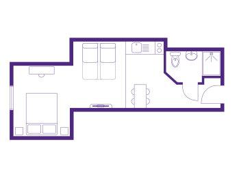Flat 1 Floor Plan