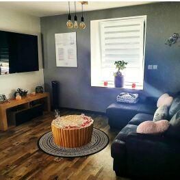 salon avec tv 160cm