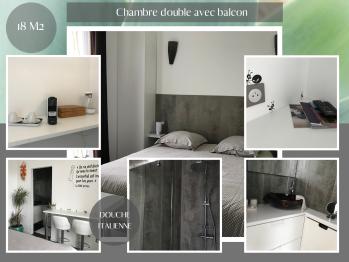 FLEXIBLE - Chambre double balcon - Petits déjeuners inclus