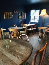 Our newly designed dining room