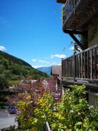 Cote de la Maison sur la vallee de la Tarentaise
